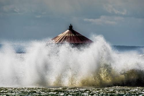 Water Intake on Lake Erie