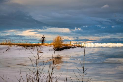 Outer Harbor in Winter
