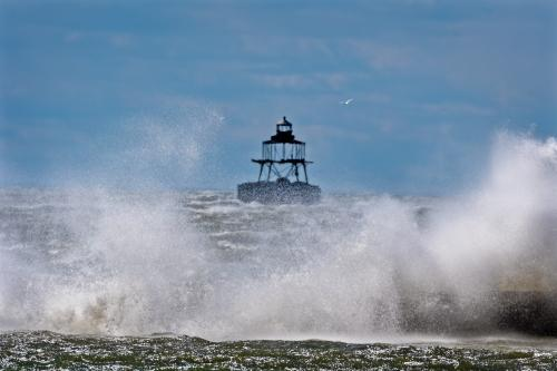 Windy Day on Lake Erie