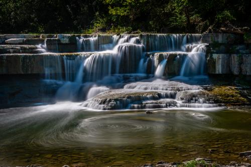 Smaller Waterfall at Taughannock Falls