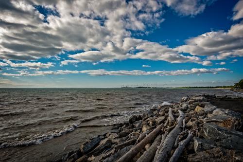 Lake Erie Near Hamburg