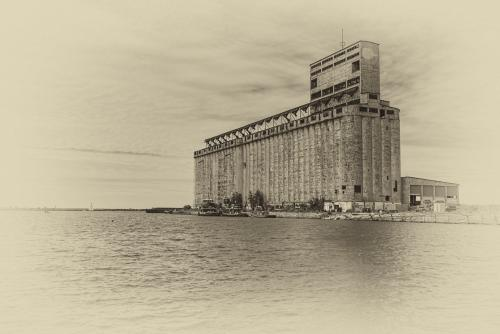 Grain Elevator at Buffalo's Outer Harbor