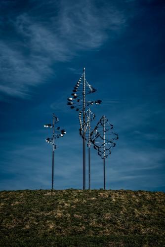 Wind Sculpture, Wilkeson Pointe